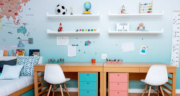 Escrivaninhas para Incentivar os Pequenos